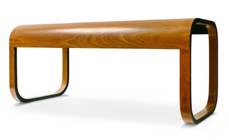 Stylish Modern Coffee Table Of Natural Materials That Looks Like It S Made Plastic Digsdigs