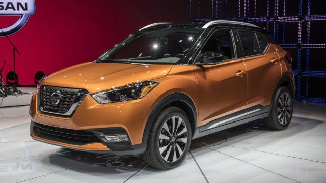 The approaching 2019 Nissan Kicks is the smallest crossover in ...