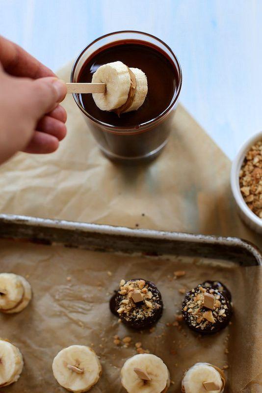 Peanut Butter Banana Bonbons // joy the baker