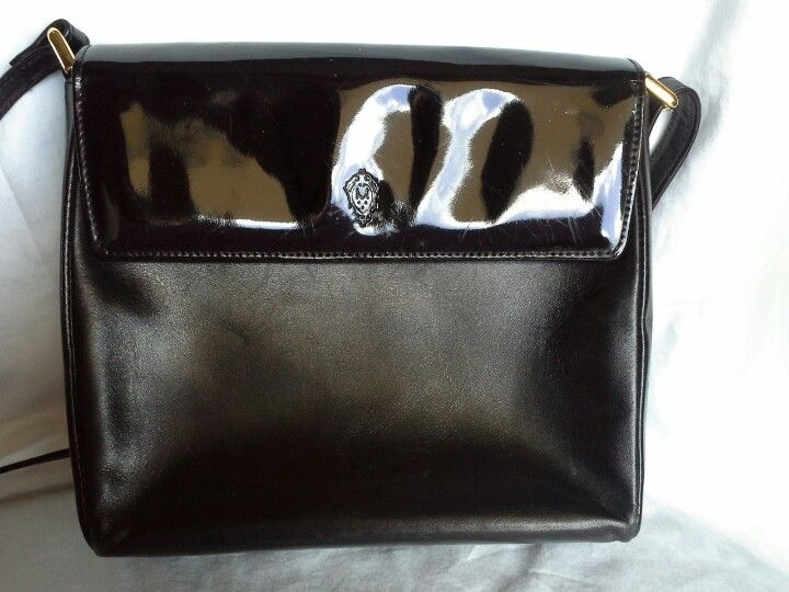 Vintage Genuine Leather Medici Crossbody Bag Handmade In Germany