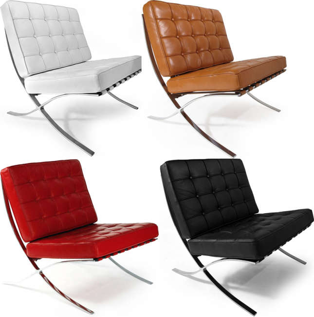 Barcelona Stoel Chair Replica by Ludwig Mies van der Rohe Must