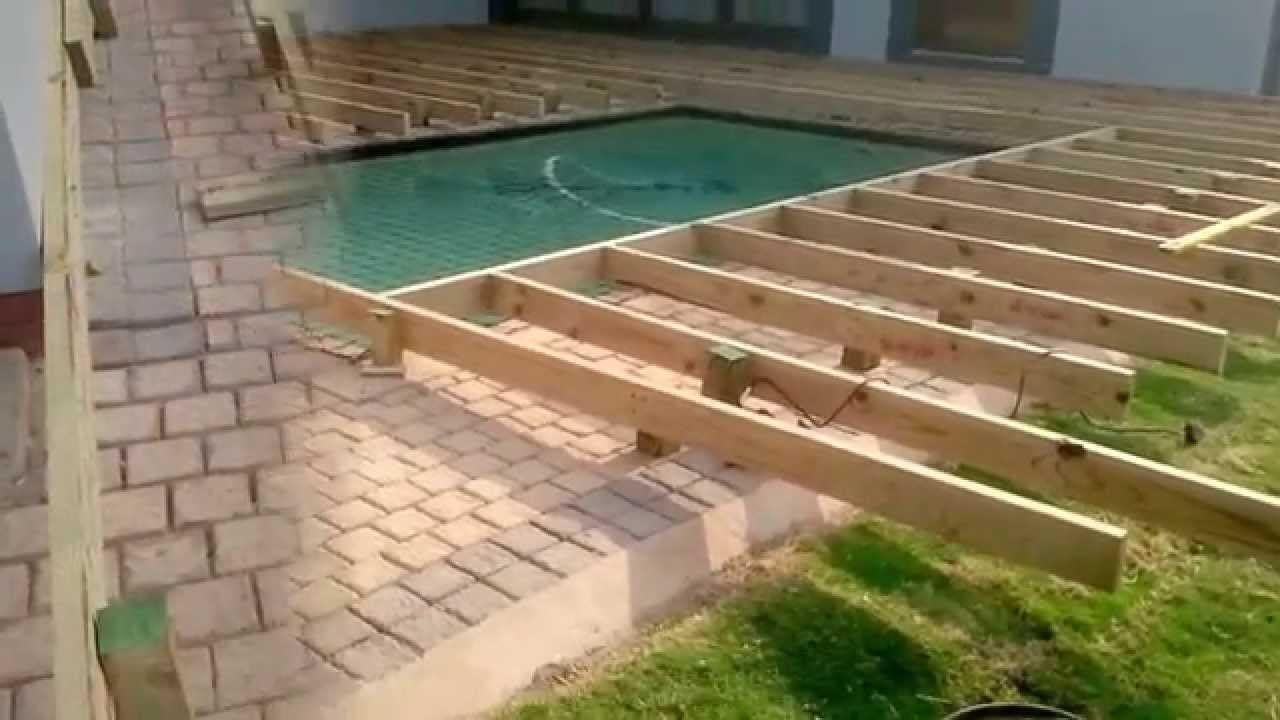 Deck Around Inground Pool Backyard Design Ideas Decks Around Pools Above Ground Swimming Pools Wooden Pool