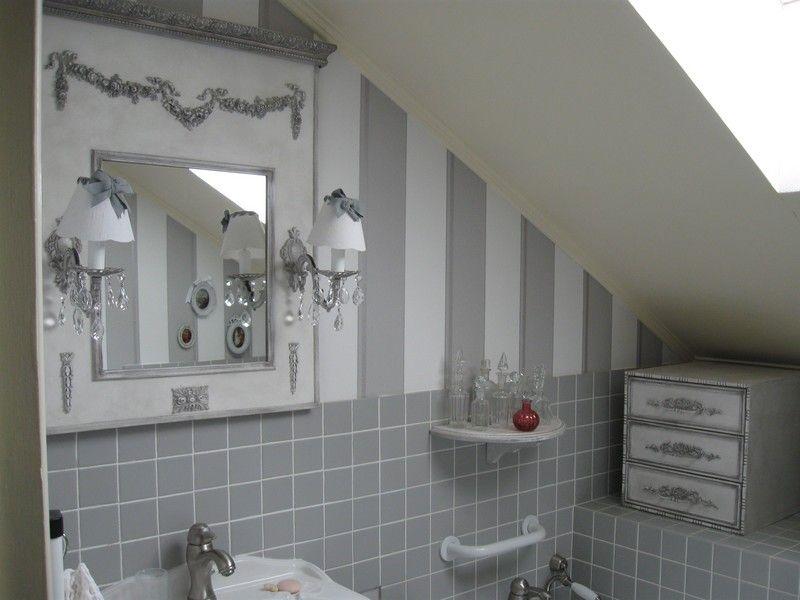 shabby | łazienka w jasnych barwach | Pinterest | Trumeau, Site ...
