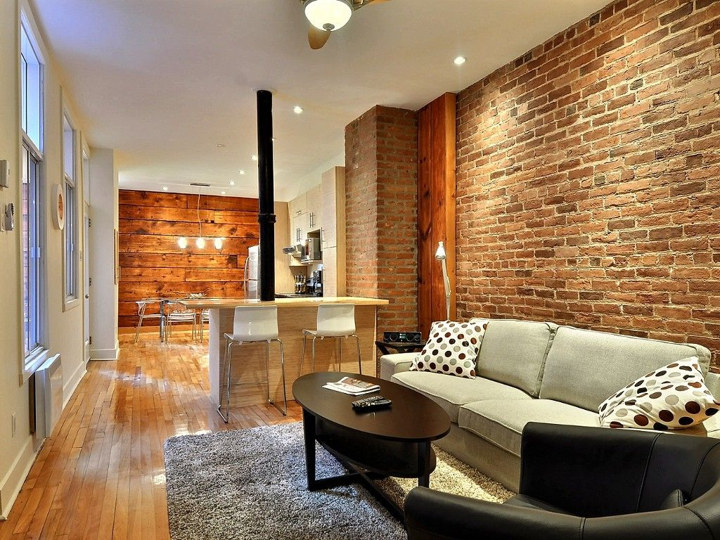 Apartment Vacation Rental In Montreal From Vrbo Com Vacation Rental Travel Vrbo Living Room And Dining Room Rental Apartments Apartment