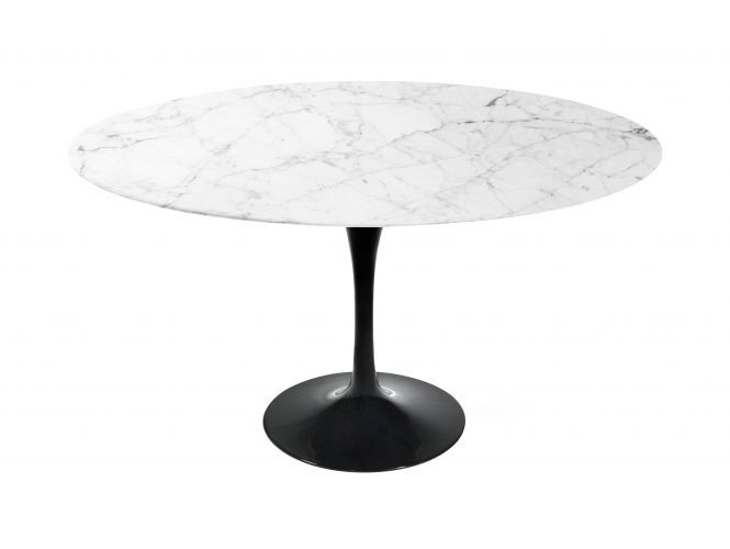 Tulip Table Round Carrara Rove Concepts Rove Classics Mid