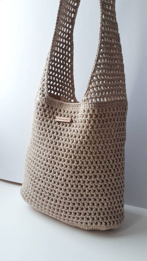 Buy Amazon: amzn.to/31eDJmn Bags Crochet Handbag, Tote Bag, Crochet Bag, Tote, Handbags