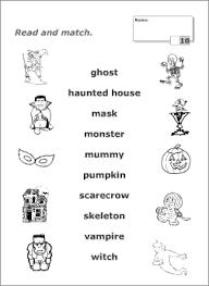 Resultado de imagen de halloween vocabulary pdf | Literacy ...