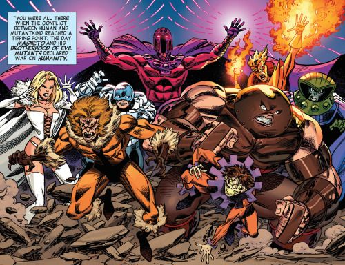 The Brotherhood In X Men 92 1 Marvel Villains X Men Mutant