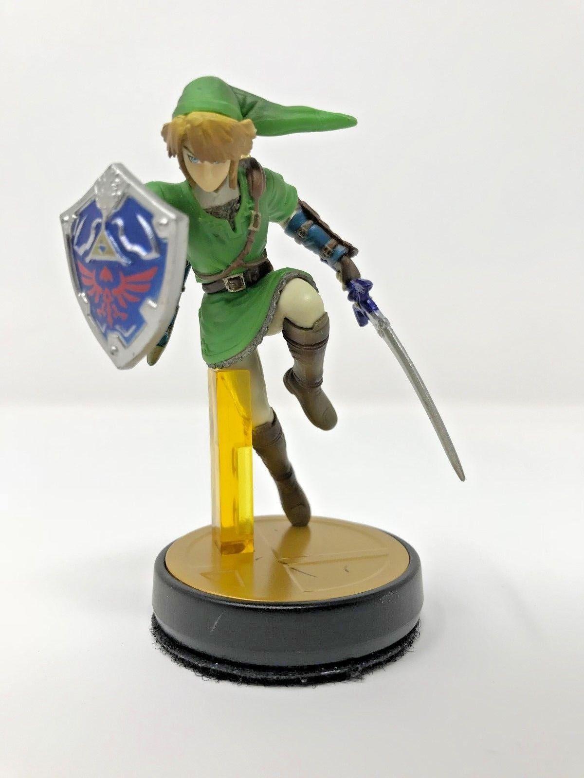 Details about Link Amiibo Super Smash Bros Series Zelda