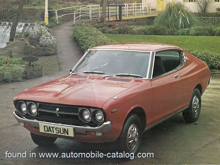 Datsun 160j Sss Coupe Automatic 1973 Datsun First Car Coupe