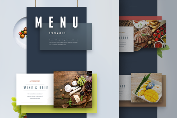 Menu And Presentation Ui By Auretech On Creativemarket