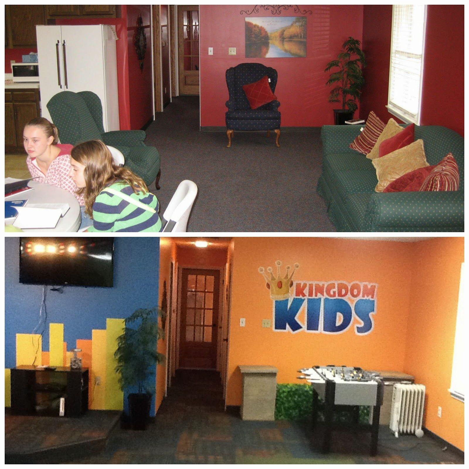 Kidmin Makeover: Fountaintown Christian Church. Check Out