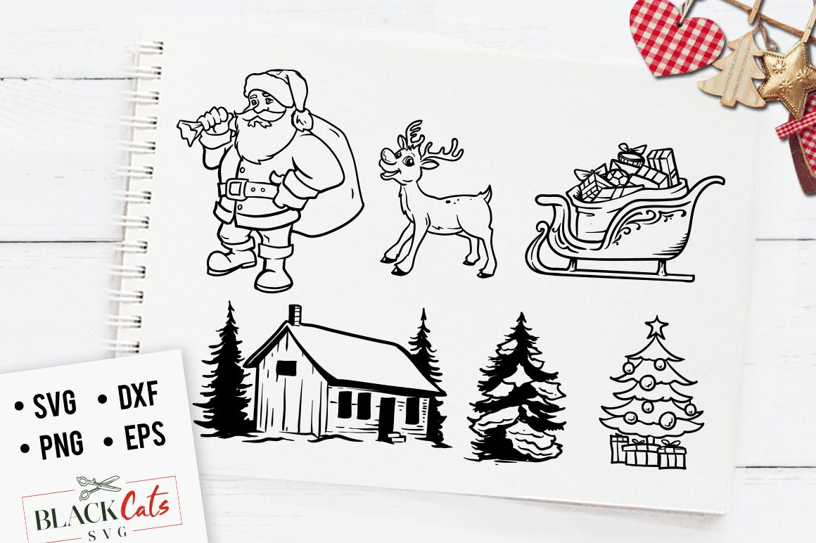 The Christmas Bundle Winter Clipart Free Svg Christmas Bundle