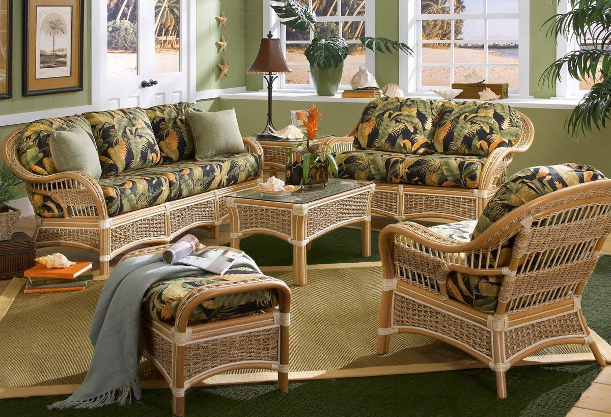 Living Room Wicker Furniture Sets Image Sources Http