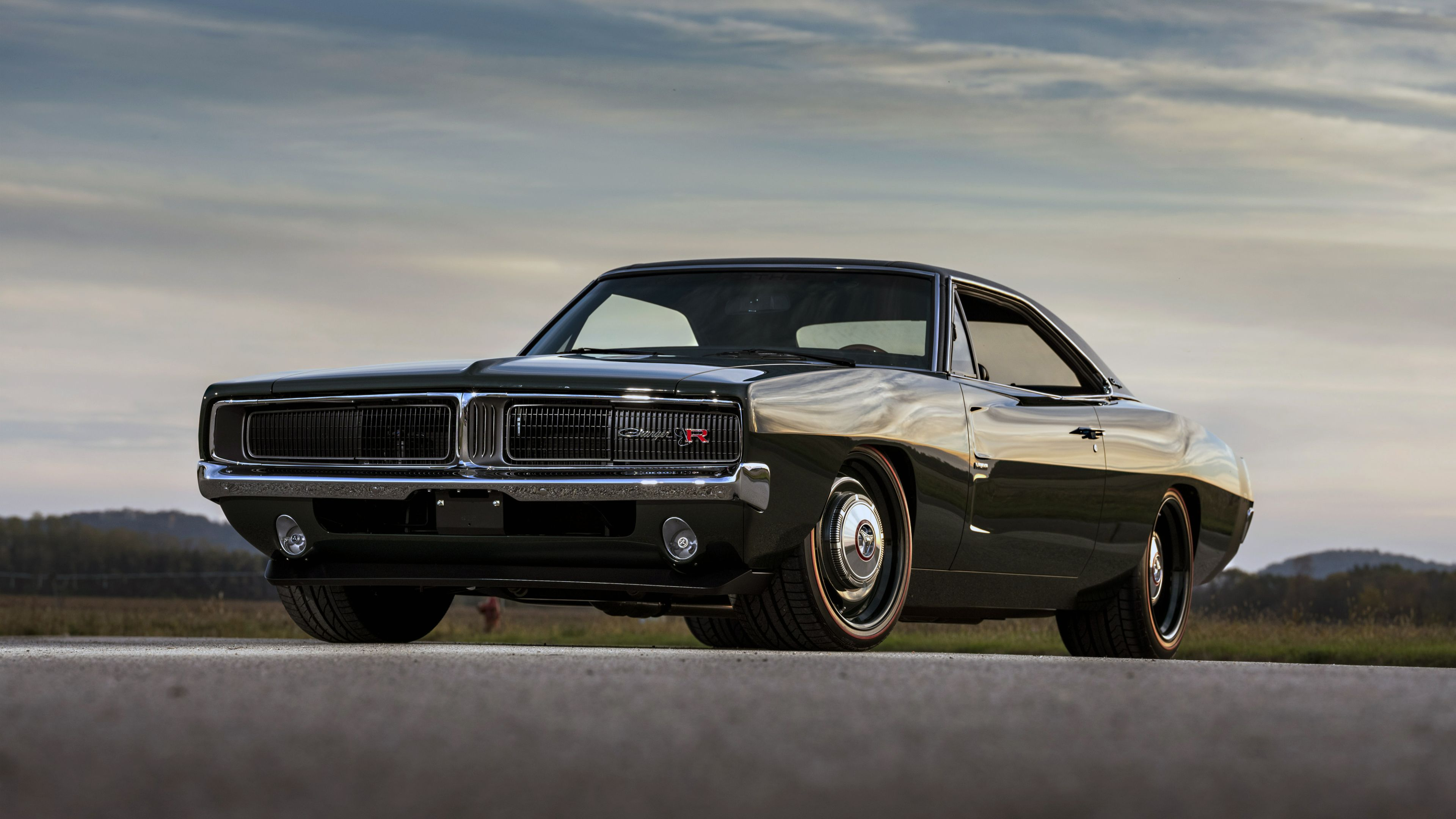 Wallpaper 4k 1969 Ringbrothers Dodge Charger Defector Front 4k