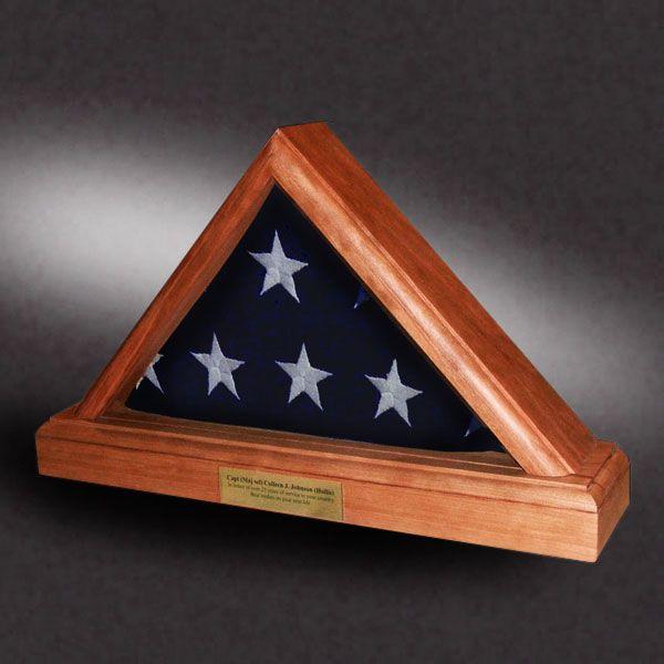 3x5 Big Bottom Cherry Greg Seitz Woodworking Wood Flag Flag Cases Woodworking