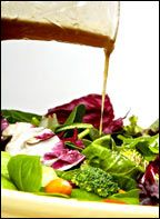 Super Salsafied Balsamic Vinaigrette    Eating this now on a simple salad of bibb lettuce and cucumber. Yummy!
