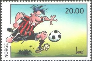 Stamp: Comics (Norway) (Comics) Mi:NO 1768,AFA:NO 1765