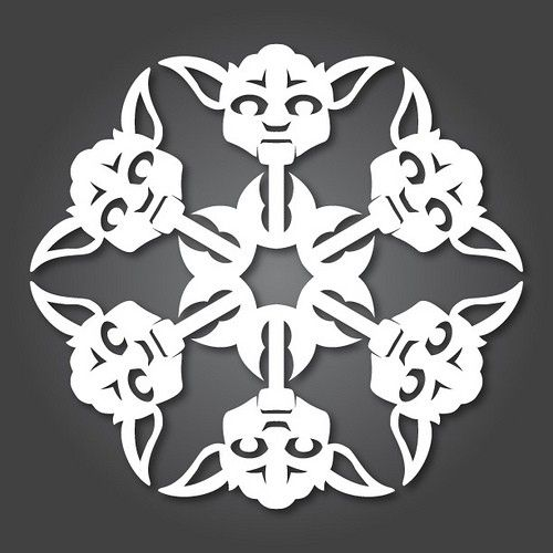 snowflake design templates