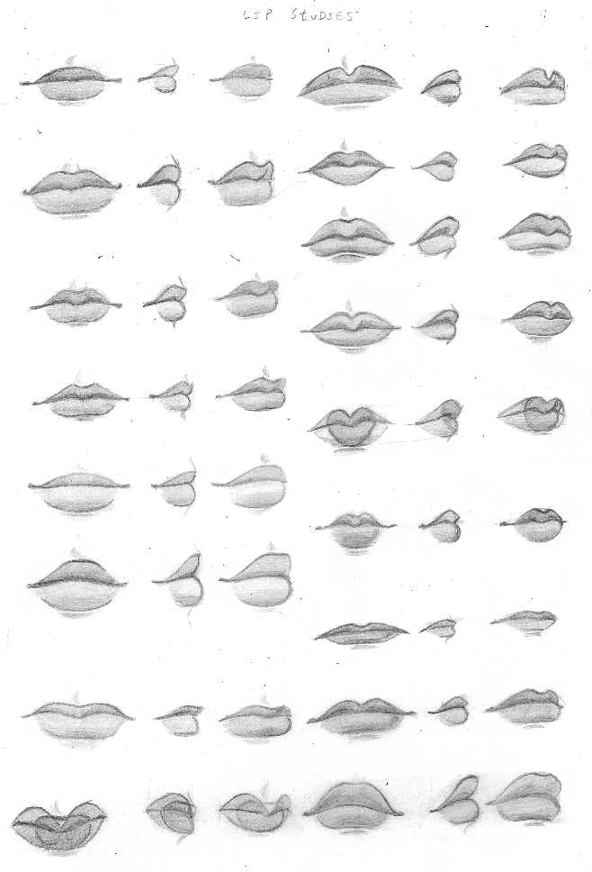 Lips By Chibiki On Deviantart Drawing People Drawings Lips Drawing