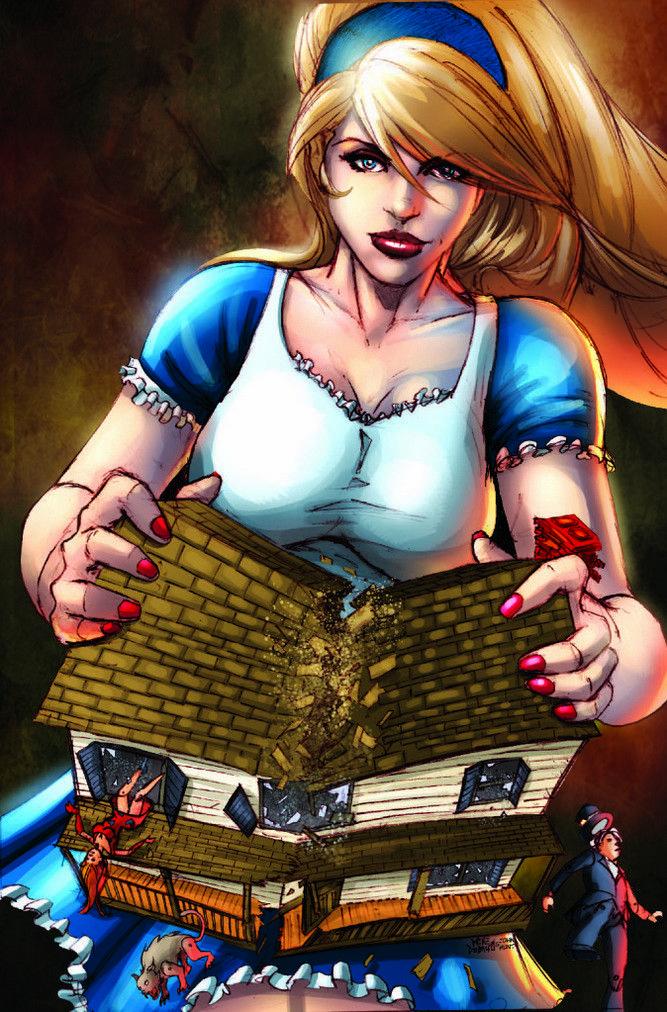 liddel poses Alice erotic