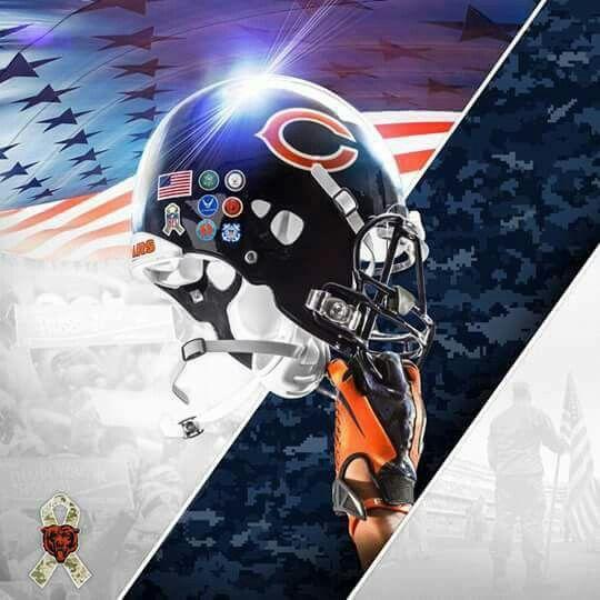 Chicago Bears Helmet, Bears Football