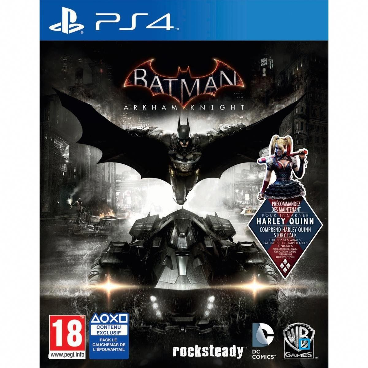 Batman Arkham Knight Ps4 Taille Tu Newbatmanproductsmugs