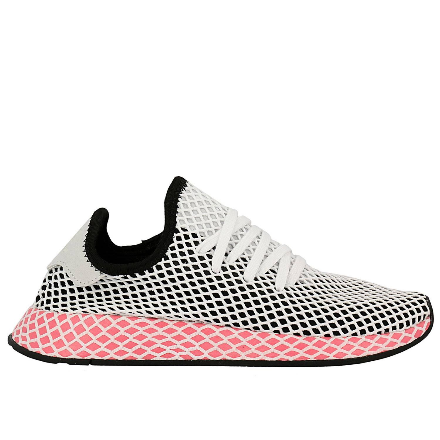 uk availability 37272 be2be ADIDAS ORIGINALS  Adidas Originals Sneakers Adidas Deerupt Runner W  Sneakers In Knit And Mesh Stretch Net Effect Shoes Sneakers ADIDAS  ORIGINALS