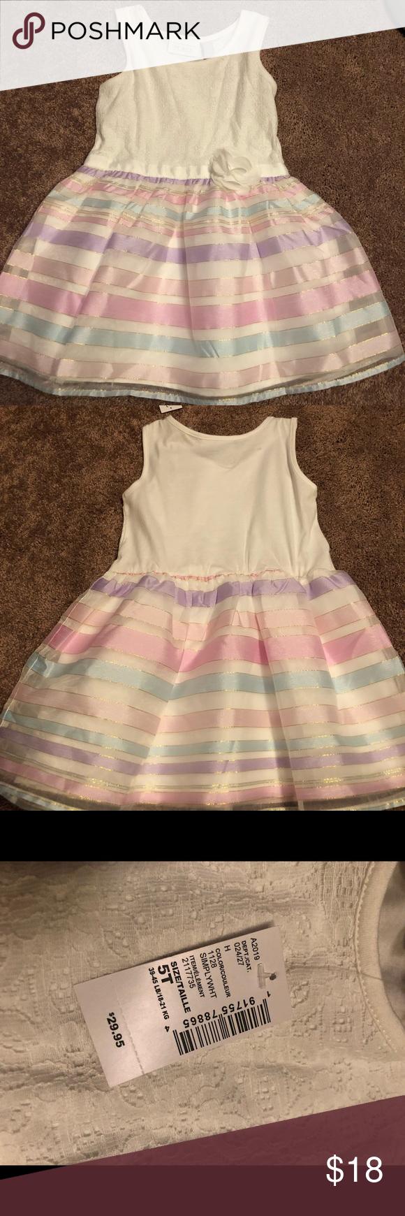 Nwt Girls Dummer Dress Dresses Summer Dresses Place Dress [ 1740 x 580 Pixel ]