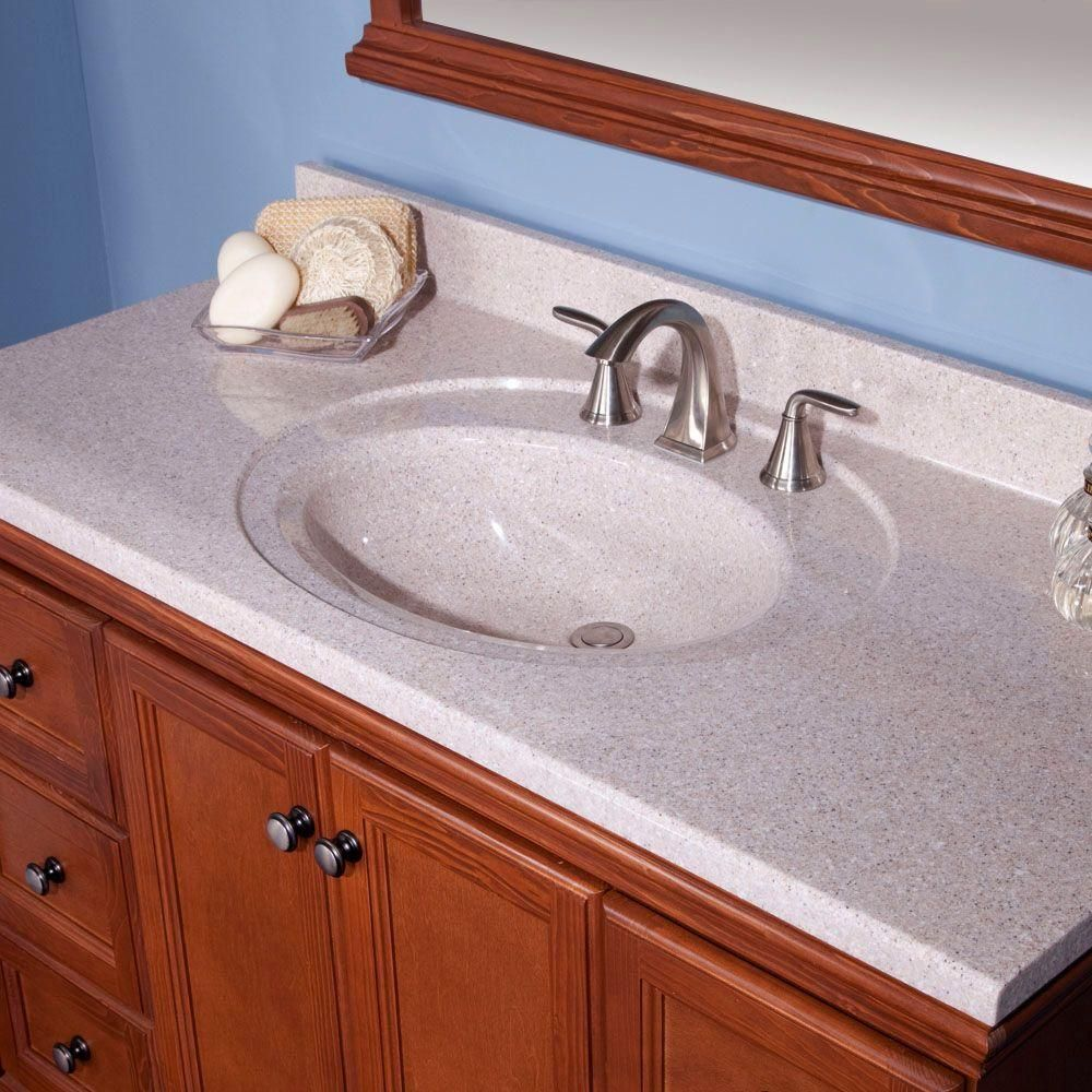 Solid Surface Technology Vanity Top