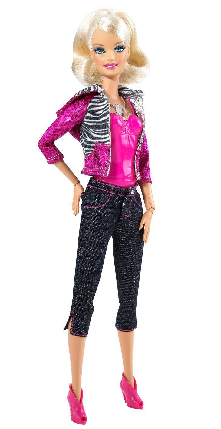 Beautiful Barbie Video Girl Doll   Free Shipping