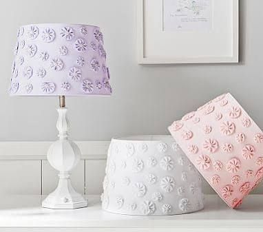 Pottery barn kids has an inspiring collection of lamp bases and shades perfect for kids rooms mix and match shades and bases to fit any style and theme