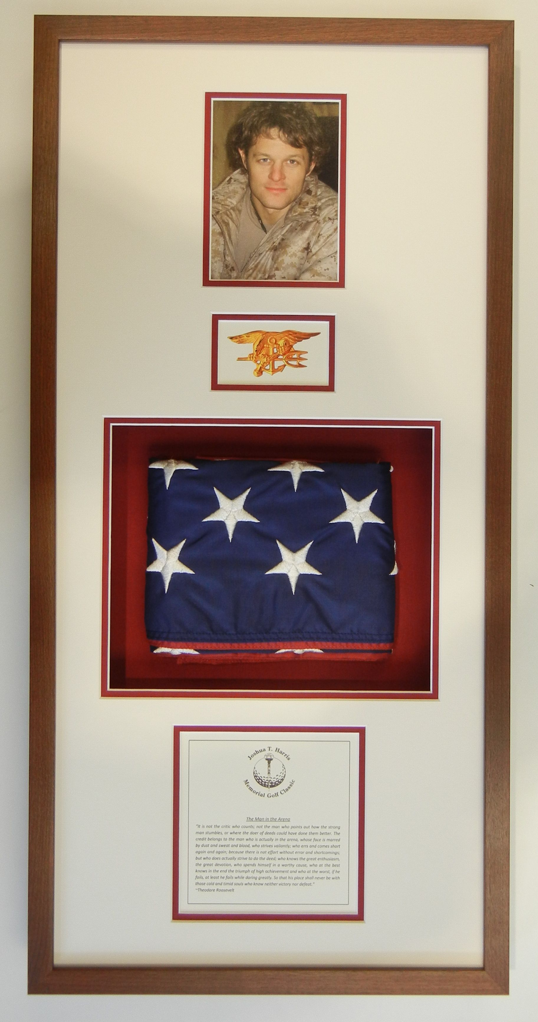 Framing Design To Honor A Fallen Hero