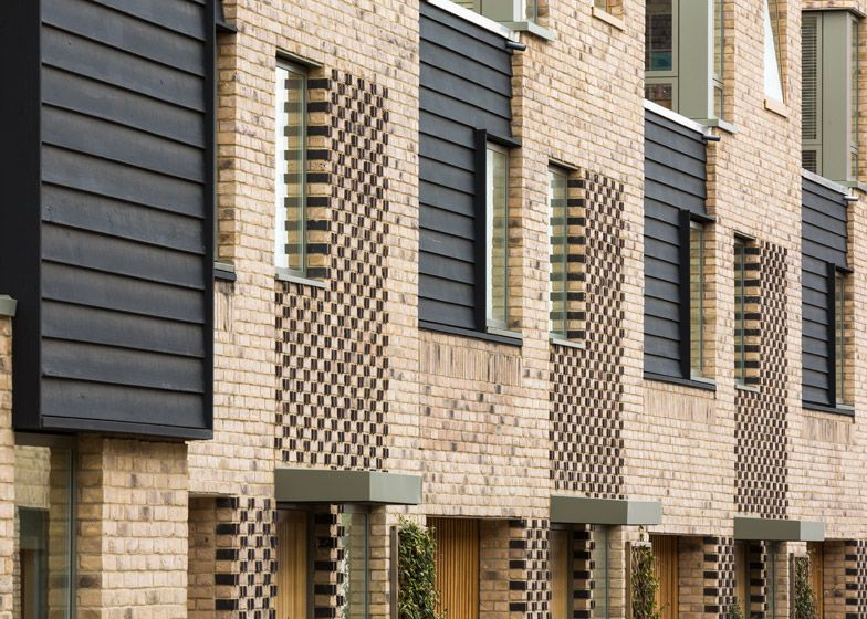Chequered Brickwork Brings Unity To A Cambridge Housing Community