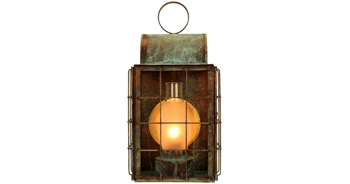 Newport Harbor Wall Sconce Outdoor Copper Lantern Copper Lantern Wall Sconces Nautical Outdoor Lighting