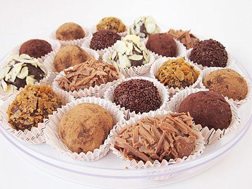 Шоколадные конфеты своими руками сделать