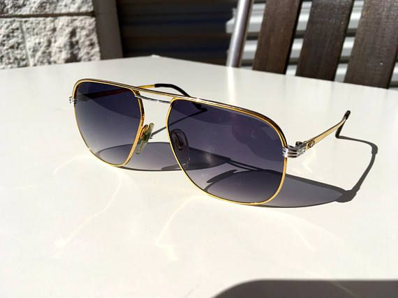 7bac59baa8 Vintage 70 s Christian Dior Monsieur sunglasses made in Germany with new  purple shaded lenses