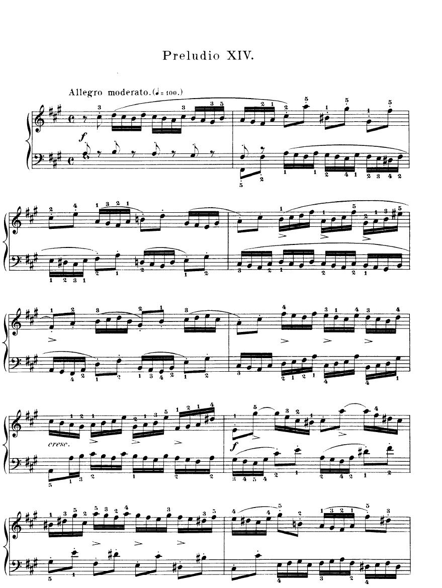 Prelude In C By J S Bach Piano Sheet Music Rookie Level With
