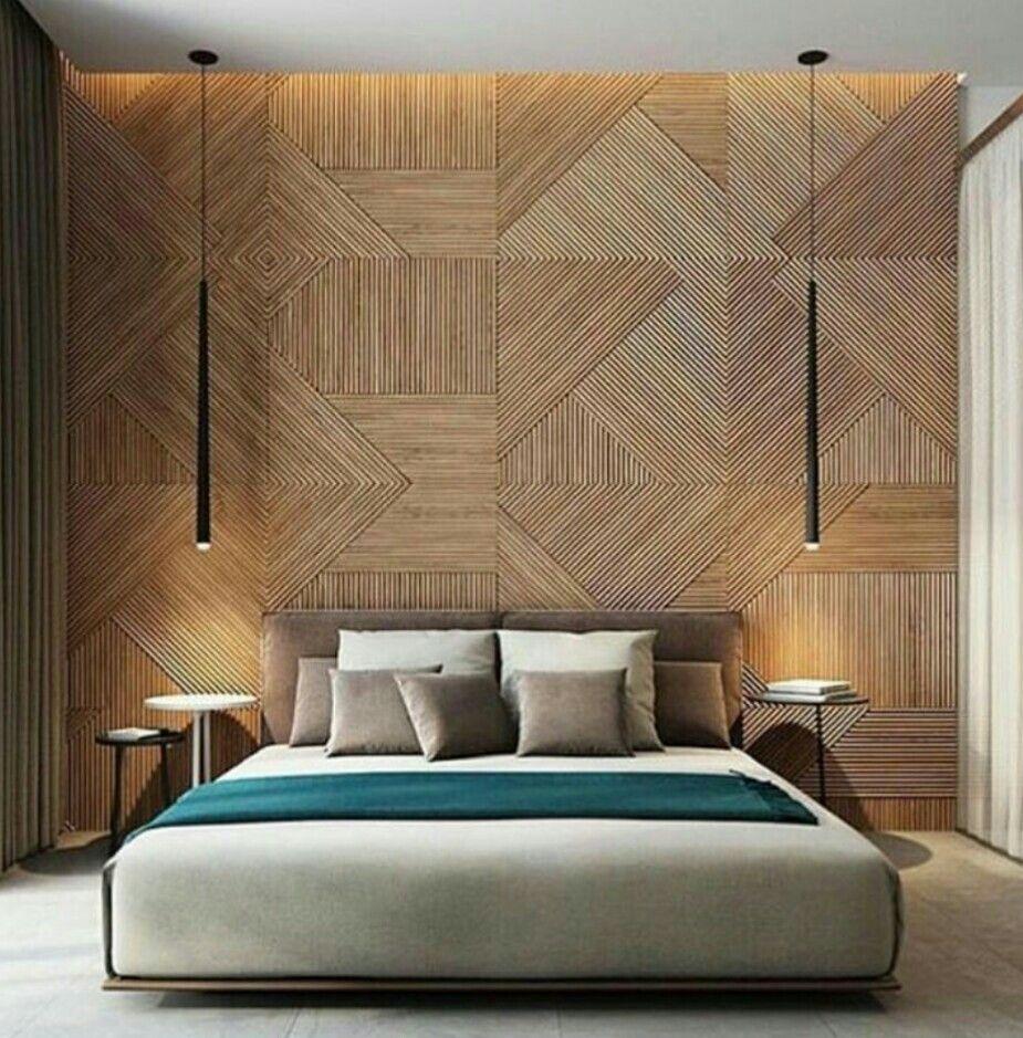 Painel ripado decoración pinterest bedrooms interiors and