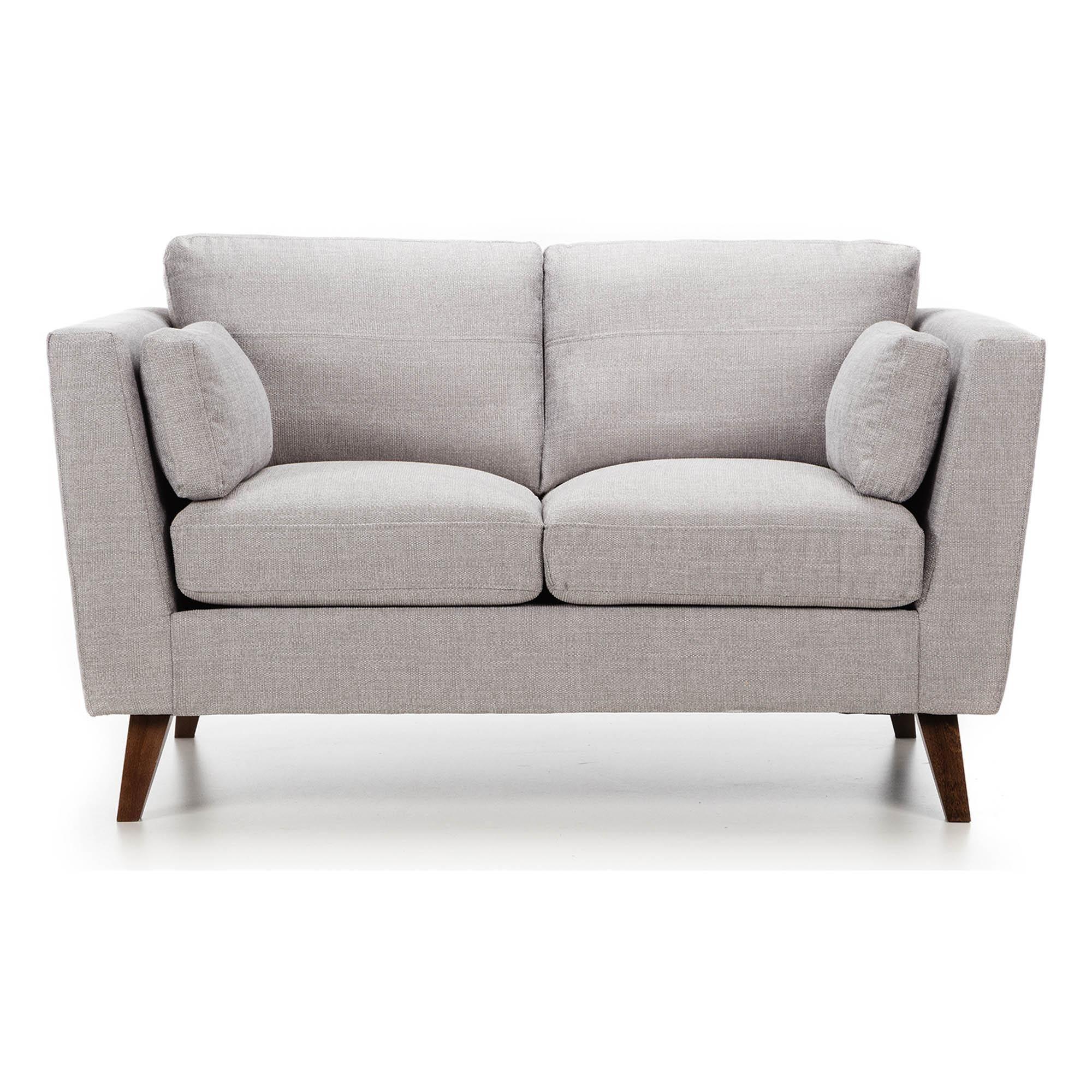 Dunelm Sam Silver Fabric 2 Seater Sofa 2 Seater Sofa Seater Sofa Sofa Next