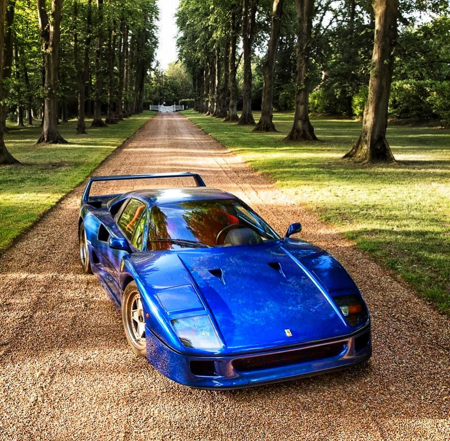Perfection From The 80 S Ferrari F40 Ferrari F40 Super Cars Sports Cars