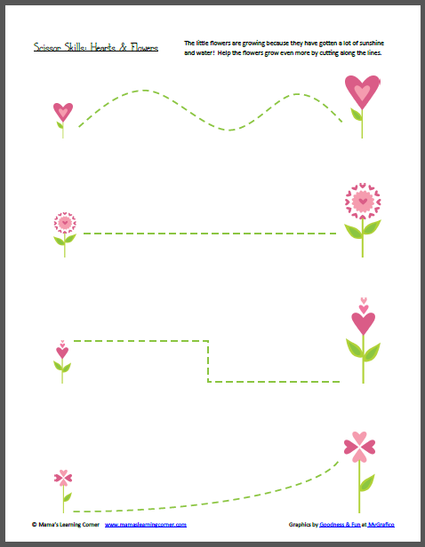 Scissor Skill Worksheets | Preschool Printables -Repinned by ...