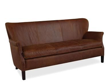 Shop For Lee Industries Leather Apartment Sofa L1343 11 And