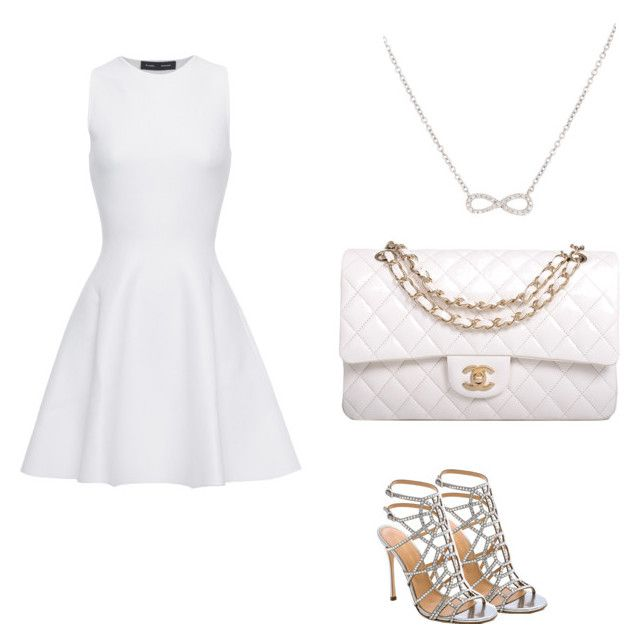 """Untitled #120"" by musicheartbeatjj ❤ liked on Polyvore featuring Sergio Rossi, Proenza Schouler, Chanel and Adina Reyter"