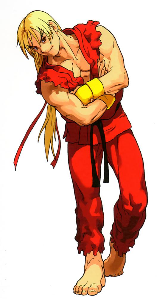 Ken Masters Xmen Vs Streetfighter Artwork Fix Png 564 1000 Street Fighter Characters Ryu Street Fighter Street Fighter Art