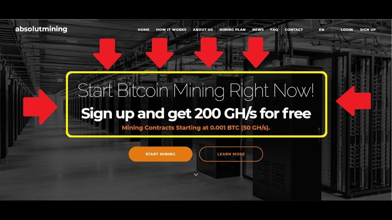 200 GH/s Signup Bonus    Best website to earn free btc
