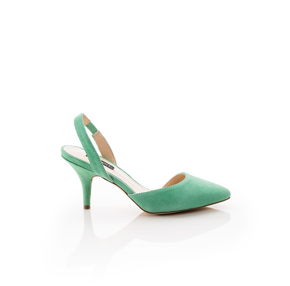 Green Slingbacks. Cute with a vintage dress you can t wait to wear ...