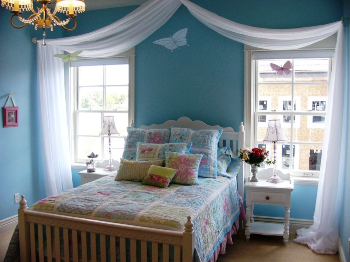 Inspiration For Impressive Small Teen Bedroom Decorating ... on Beautiful Teen Rooms  id=82398