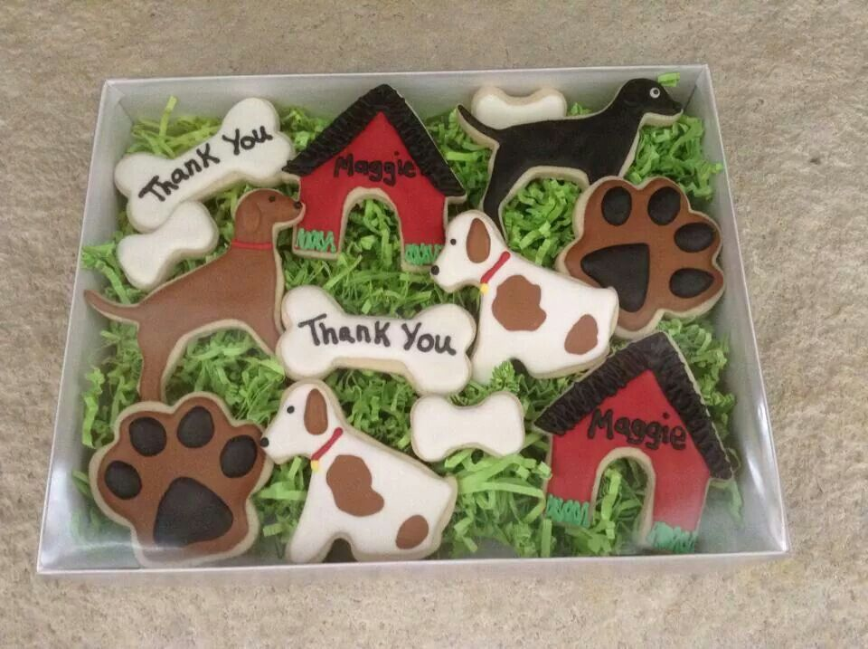 Dog And Dog House Cookies Dog Cookies Dog Biscuit Recipes