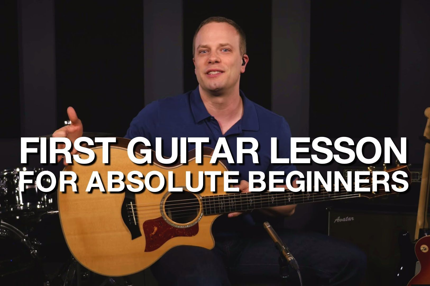 First Guitar Lesson For Beginners Guitar lessons, Basic